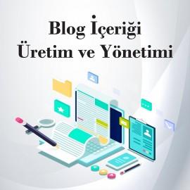 Blog İçeriği Üretimi ve Yönetimi