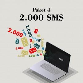 Akbim Toplu SMS Paket 4 2000 SMS