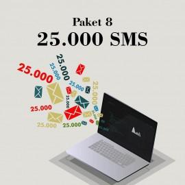 Akbim Toplu SMS Paket 8 25000 SMS
