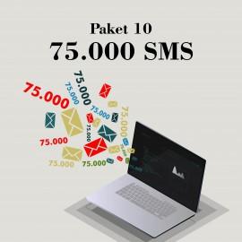 Akbim Toplu SMS Paket 10 75000 SMS