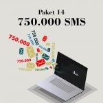 Akbim Toplu SMS Paket 14 750000 SMS