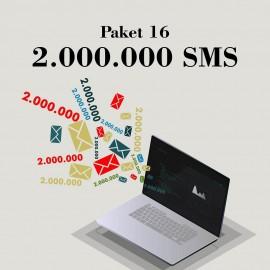 Akbim Toplu SMS Paket 16 2000000 SMS
